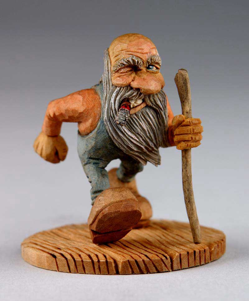 Woodcarver online magazine for Easy wood sculpture ideas
