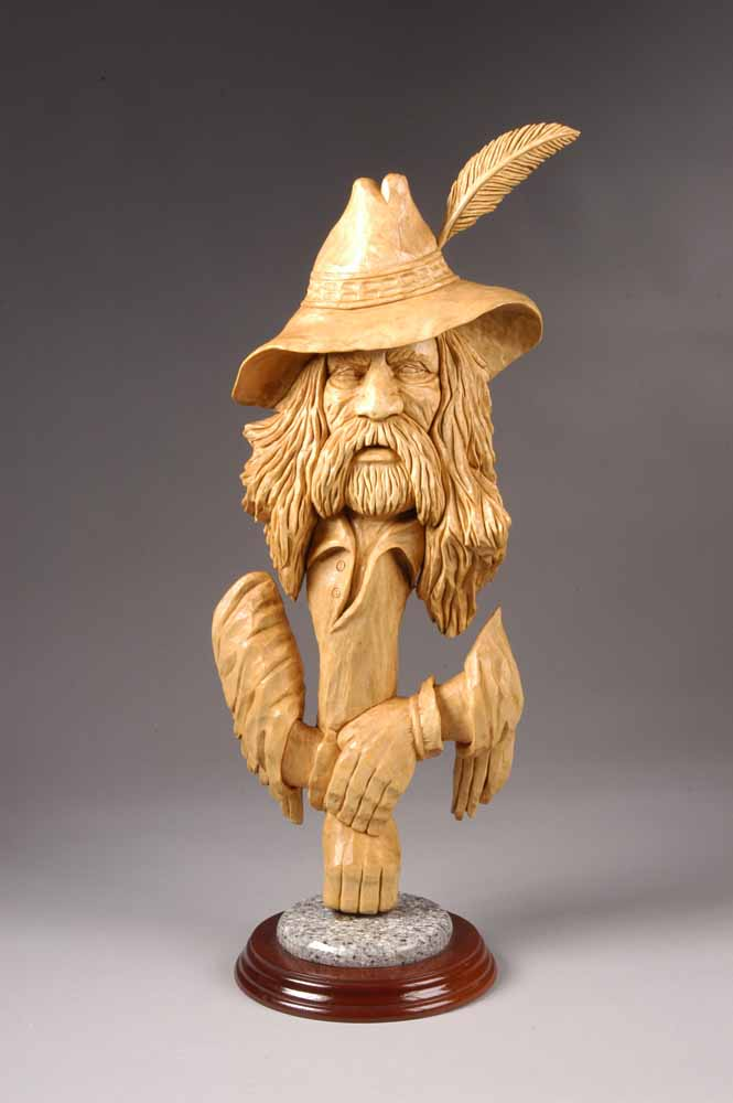 Stuff To Carve On Pinterest Wood Carvings Mountain Man