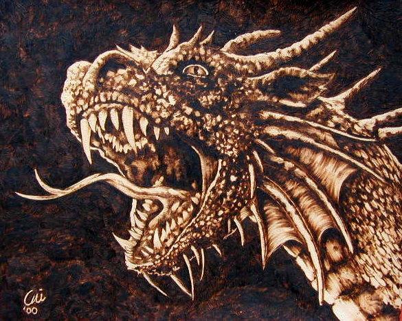 Oodcarver online magazine dragon contest