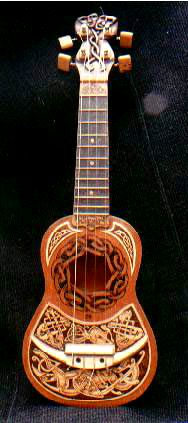 Wwwoodcarver e zine pyrography news no 10 for Decoration ukulele