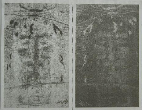 Shroud of Turin (Negative
