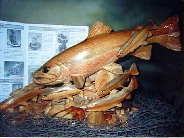 Jeff compton fish carving bing images