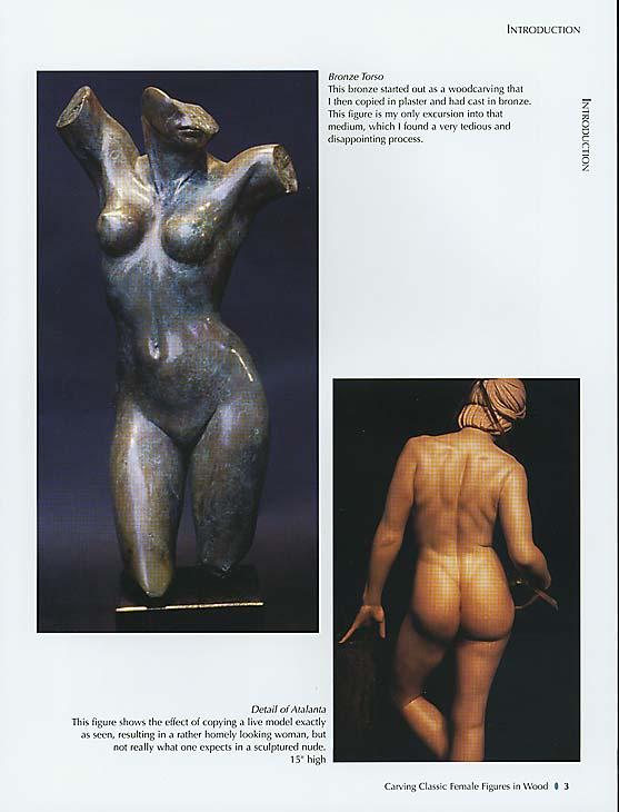 female Book figure nude