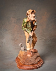 """First Best of Show """"Rabbit Revenge"""" by Dale Green, Holladay UT"""
