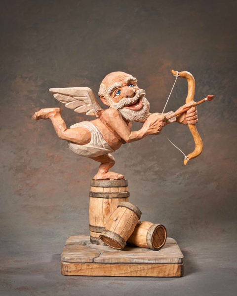 "Single Human Under 10in 1st Place - ""Cupid"" by Andrew Hoover, Clearfield PA"
