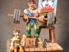 "Group Human 4th Place - ""Mighty Moe - Weight Lifter"" by David Borg, Garland TX"