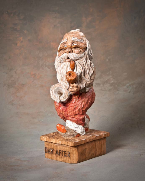 "Santa 1st Place - ""Day After"" by Robert Hershey, Lititz PA"