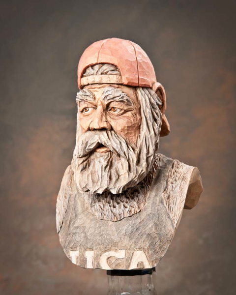 "Bottlestopper 4th Place - ""Pappy"" by Ron Dowdy, Sullivan IL"