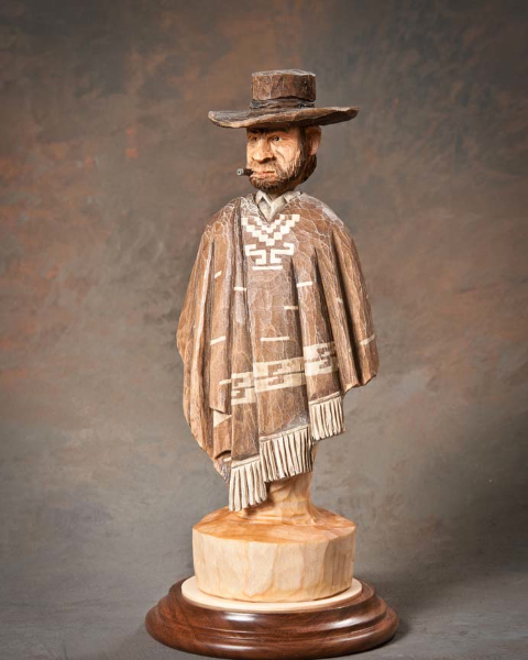 "Bust 3rd Place - ""The Good, The Bad, & The Ugly"" by Corey Hallogen, Council Bluff IA"