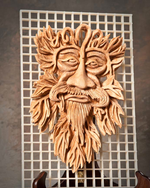 "Miscellaneous 4th Place - ""Wood Spirit"" by David Borg, Garland TX"