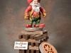 """Santa 4th Place - """"Cowboy Santa"""" by David Borg, Garland TX"""