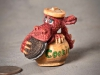 "Miniature 4th Place - ""Red Dragon in Cookie Jar"" by David Borg, Garland TX"