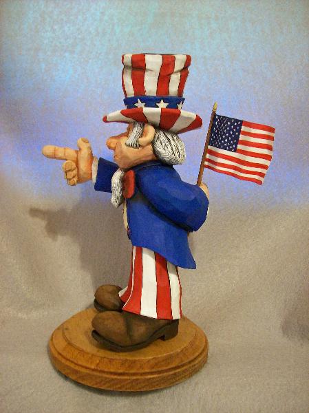 Uncle Sam Left Side