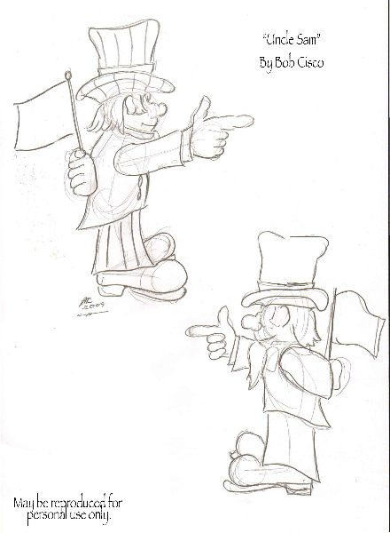 Uncle Sam Sketch