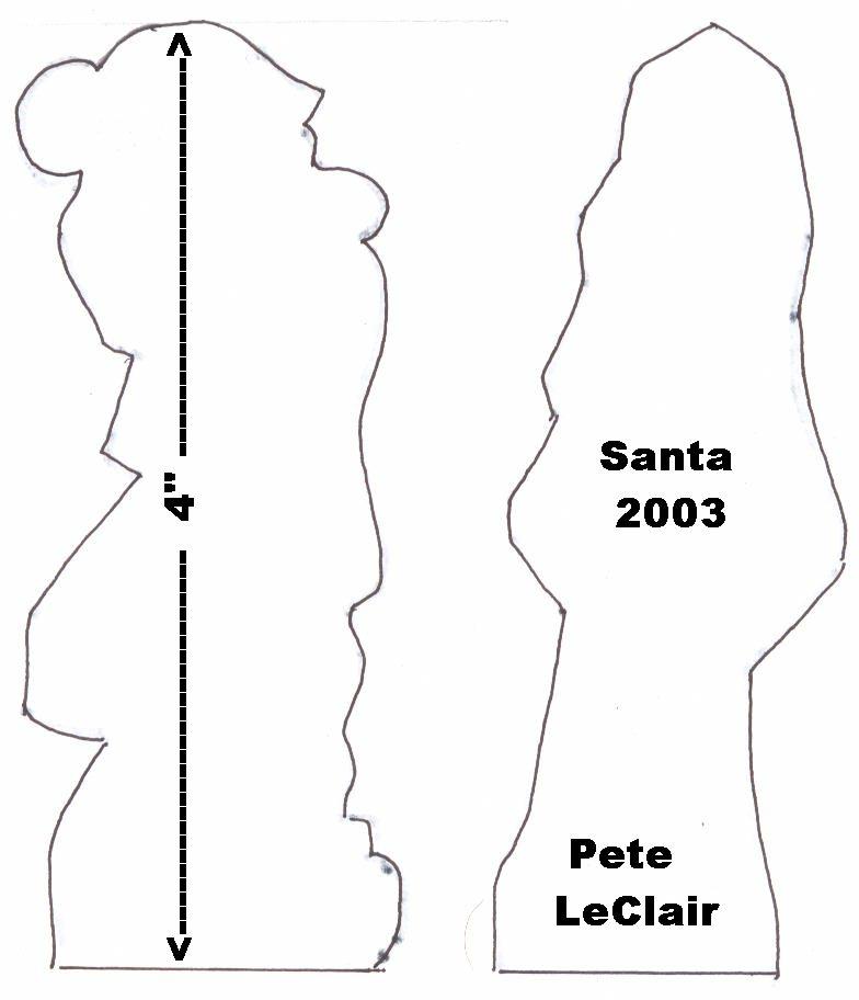 Santa-pattern