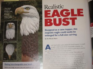 Pat Mikula Moore's Eagle Article in WCI Issue 34
