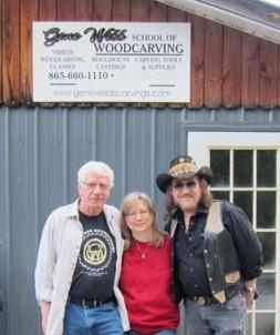 Rick Jensen, Susan Alexander, Gene Webb in Townsend, TN