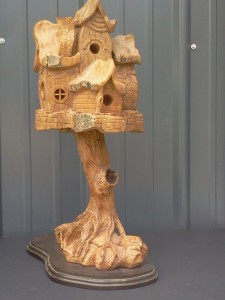 "One of Howard Atwood's ""Ultimate Birdhouse"""